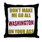 Washington Football Throw Pillow