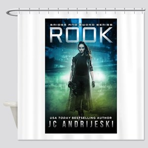 ROOK cover Shower Curtain
