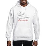 Merry Christmas molecularshirts.com Hooded Sweatsh