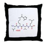 Molecularshirts.com Love molecule Throw Pillow