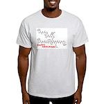 Happy Hanukkah molecule Light T-Shirt