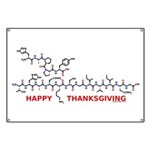 Happy Thanksgiving molecule Banner