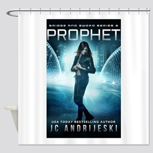 PROPHET cover Shower Curtain