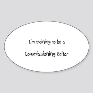 I'm training to be a Commissioning Editor Sticker