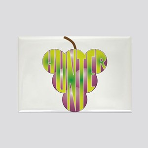 Grape Shape Hunter Rectangle Magnet