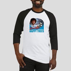 Womens T-Shirt_HappyTrees_SkyBlue Baseball Jersey