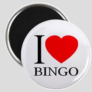 I (Heart) BINGO Magnet