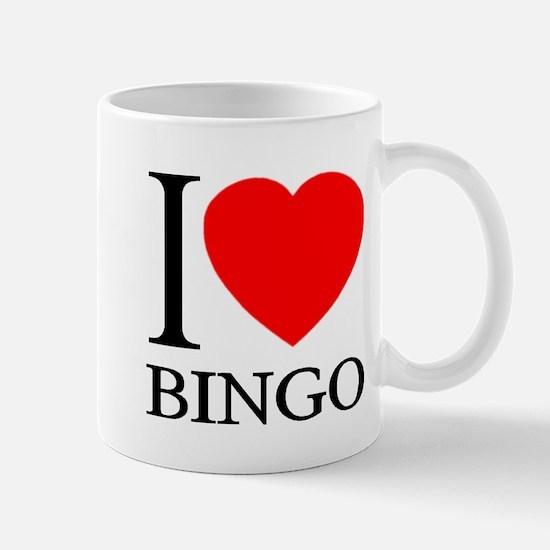 I (Heart) BINGO Mug