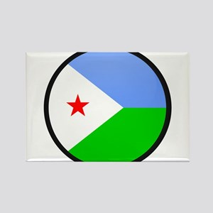 Djiboutian Islands Rectangle Magnet