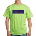 Tea Party Green T-Shirt