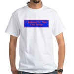 Tea Party White T-Shirt