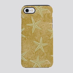 Sand Starfish Pattern iPhone 7 Tough Case