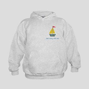 Sail Away Kids Hoodie