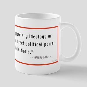 Fascist Government Mug