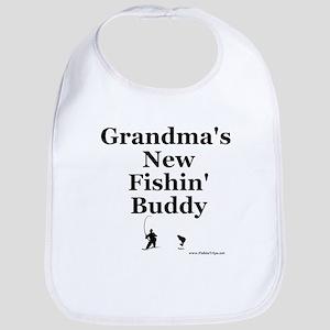 """Grandma's Fishin' Buddy"" Bib"