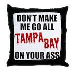 Tampa Bay Football Throw Pillow