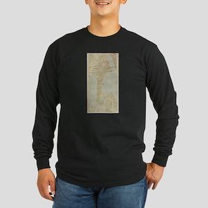 Vintage Map of Bayonne NJ (191 Long Sleeve T-Shirt