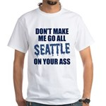Seattle Football White T-Shirt
