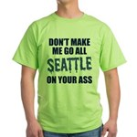 Seattle Football Green T-Shirt