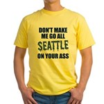Seattle Football Yellow T-Shirt