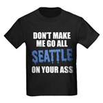 Seattle Football Kids Dark T-Shirt
