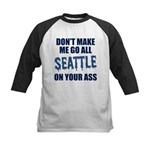 Seattle Football Kids Baseball Jersey