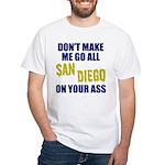 San Diego Football White T-Shirt
