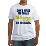 San Diego Football Fitted T-Shirt