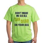 San Diego Football Green T-Shirt