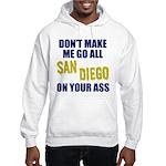 San Diego Football Hooded Sweatshirt