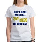 San Diego Football Women's T-Shirt