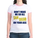 San Diego Football Jr. Ringer T-Shirt