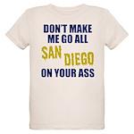 San Diego Football Organic Kids T-Shirt
