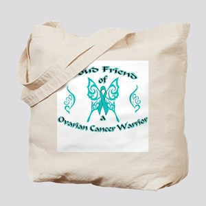 Proud Ovarian Tribal Friend Tote Bag