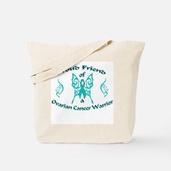 Proud Ovarian Tribal Friend Tote Bag