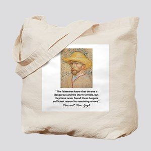 """Vincent Van Gogh"" Tote Bag"