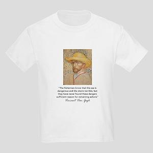"""Vincent Van Gogh"" Kids Light T-Shirt"