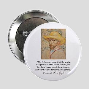 """""""Vincent Van Gogh"""" 2.25"""" Button"""