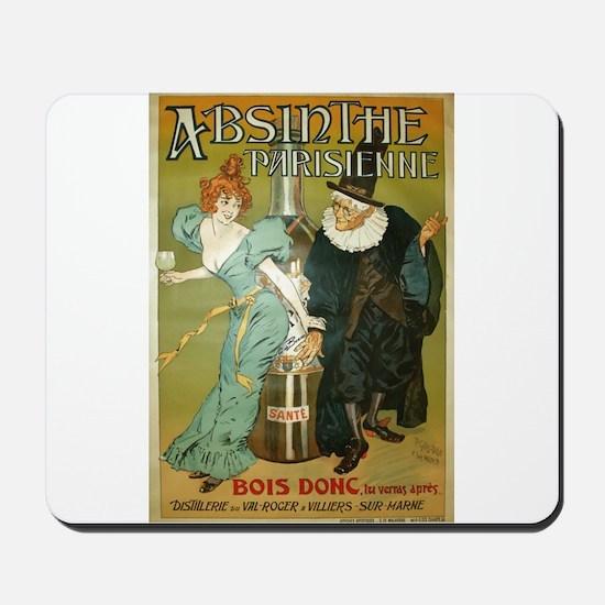 Parisian Absinthe Mousepad