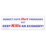 Debt Kills! Bumper Sticker (50 pk)