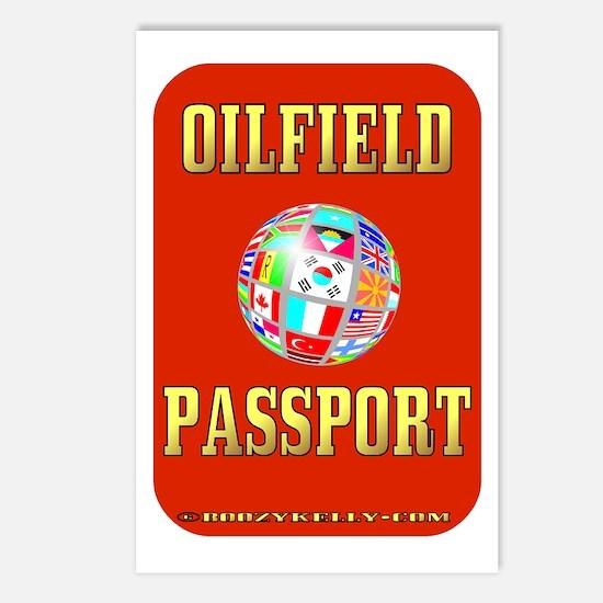 Oil Field Passport Postcards (Package of 8)