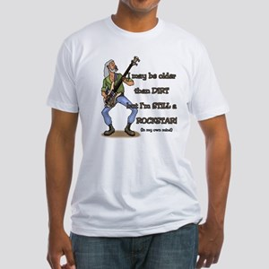 """Still a Rockstar!"" Fitted T-Shirt"