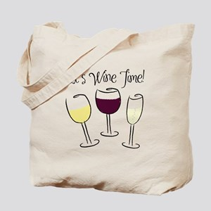 It's Wine Time Tote Bag