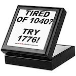 1040-1776 Keepsake Box
