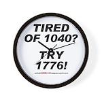 1040-1776 Wall Clock