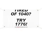 1040-1776 Banner