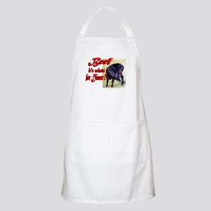 Beef it's whats for Dinner BBQ Apron