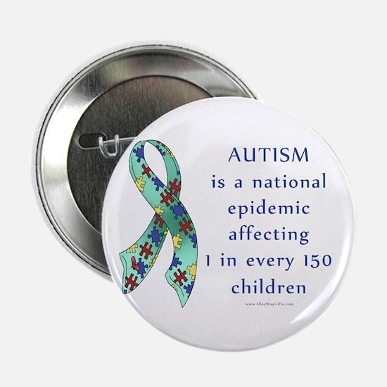 "Autism Epidemic 2.25"" Button"