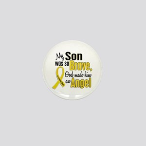 Angel 1 SON Child Cancer Mini Button