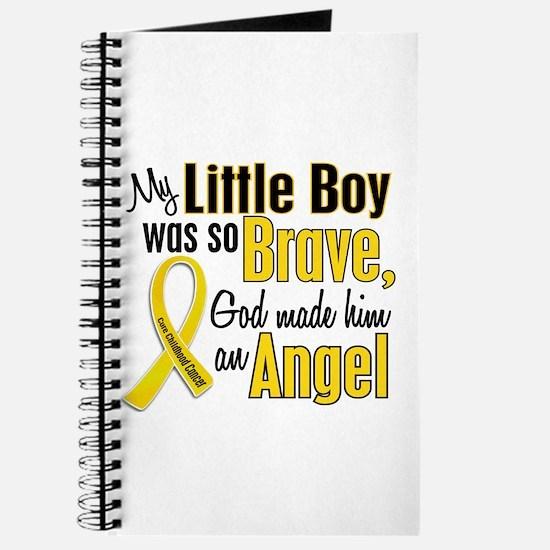 Angel 1 LITTLE BOY Child Cancer Journal